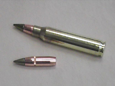 Cartridge and bullet